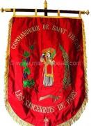 Drapeaux associations religieuses: bannière