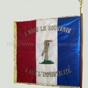 Drapeaux associations anciens combattants du souvenir Français