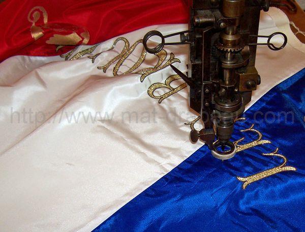 Assez Drapeaux associations religieuses :origine et fabrication sur mesure. RZ44