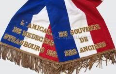 Mât drapeau cravate du drapeau