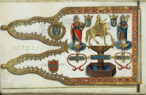 Étendard de Louis XII