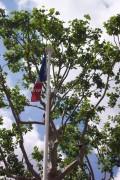 Mât drapeau mât fibre verre conique