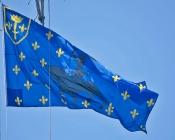 Histoire drapeau: fanion de Jeanne d'Arc
