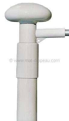 Potence rotative de mât en fibre de verre mât fibre de verre