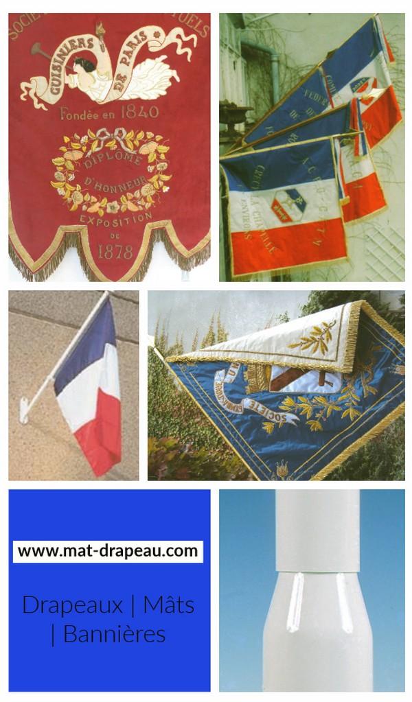 mât - des mâts et des drapeaux