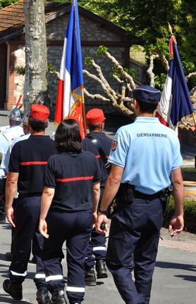 Décret drapeau sapeurs pompier