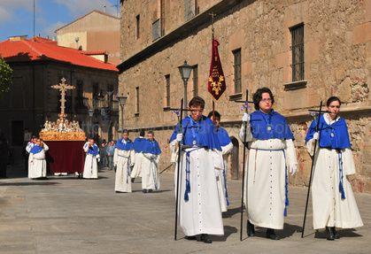bannière religieuse : procession