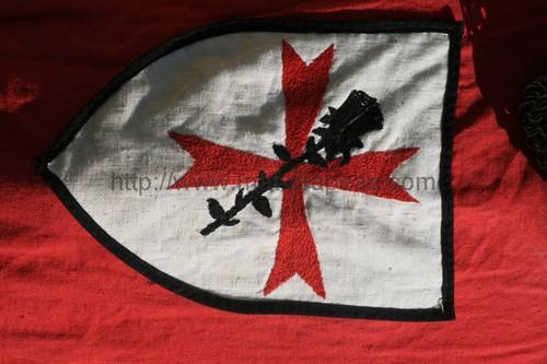 histoire du drapeau - bannière des Croisés