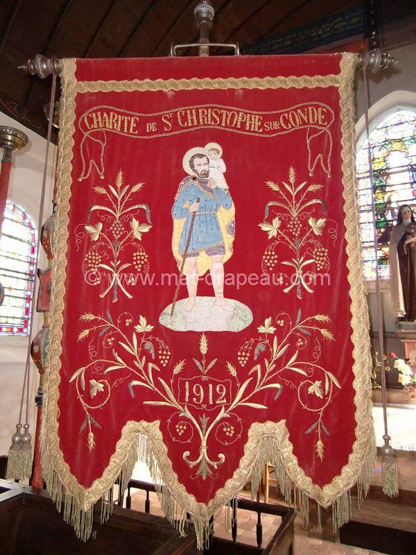 Drapeau: bannière St Christophe