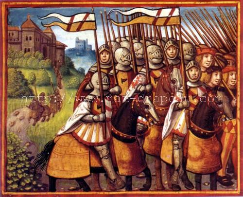 Étendard sous Charles VIII