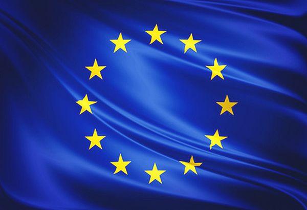 Drapeau européen histoire: étoiles dorées à cinq branches